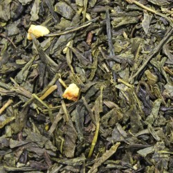 Sencha Orange Green Tea mit Schalen