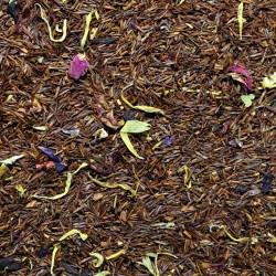 Rooibos Mango und Passionsfrucht mit Blüten