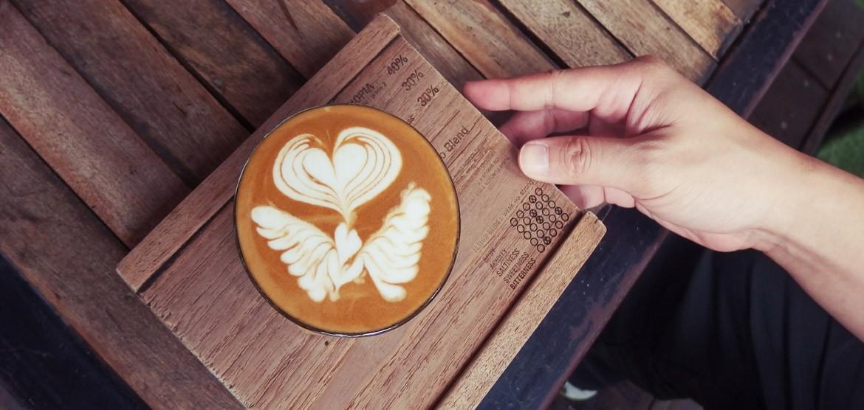 Kaffee frisch geröstet